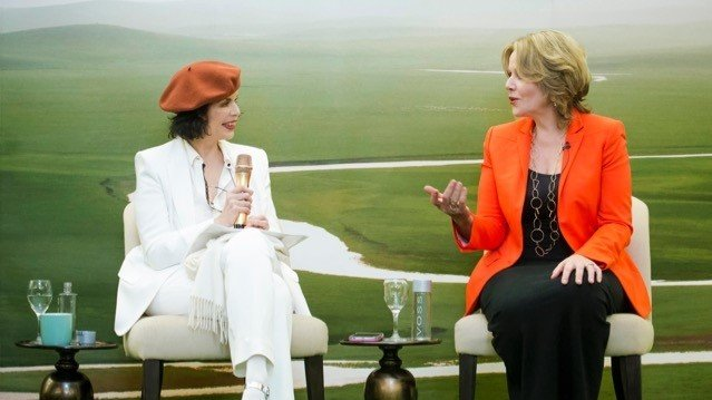 The Queen of Opera and Bianca Jagger