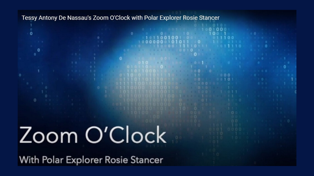Tessy Antony De Nassau's Zoom O'Clock